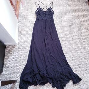 Free People Lace Maxi Dress